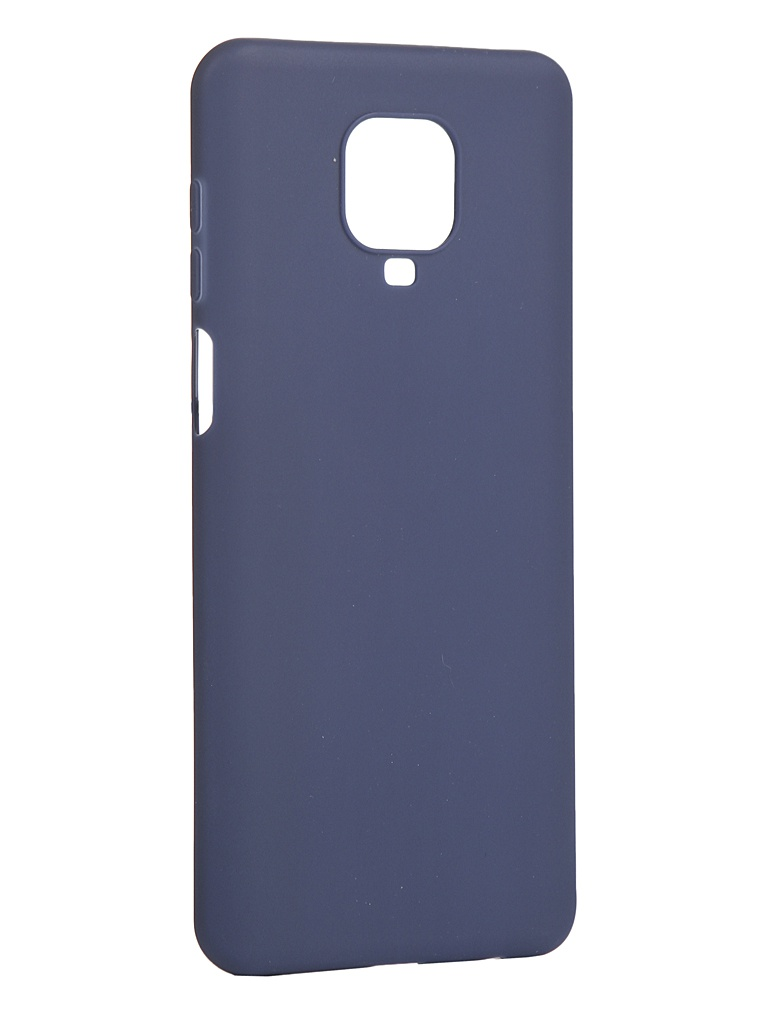 Чехол Pero для Xiaomi Redmi Note 9 Pro / Note 9S Blue CC01-RN9PBL чехол pero для xiaomi redmi note 8 pro soft touch blue cc01 rn8pbl