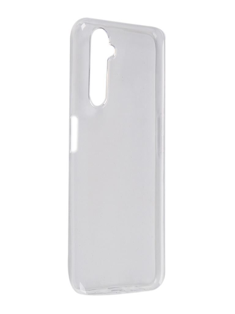 Чехол Pero для Realme 6 Pro Silicone Clip Case Transparent CC01-R6PTR
