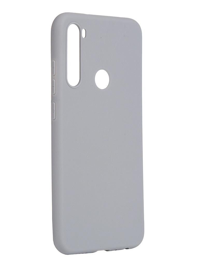 Чехол Pero для Xiaomi Redmi Note 8 Grey CC01-RN8GR