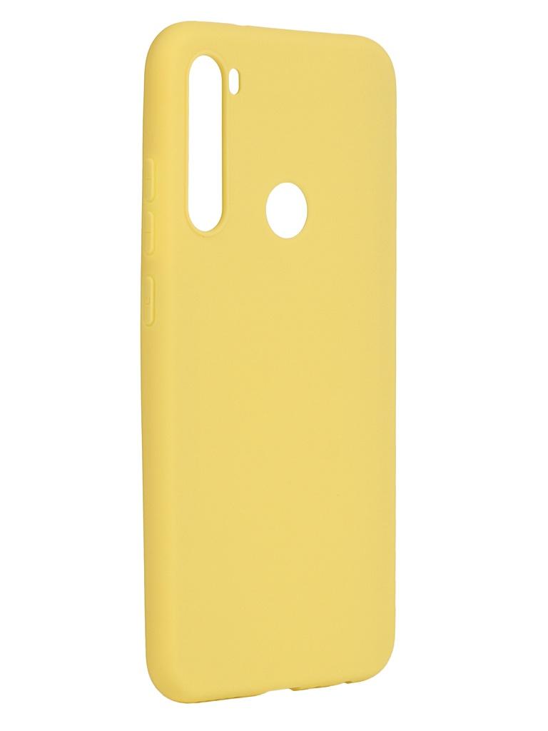 Чехол Pero для Xiaomi Redmi Note 8 Yellow CC01-RN8Y