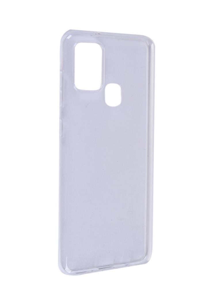 Чехол Pero для Samsung Galaxy A21S Silicone Clip Case Transparent CC01-A21STR
