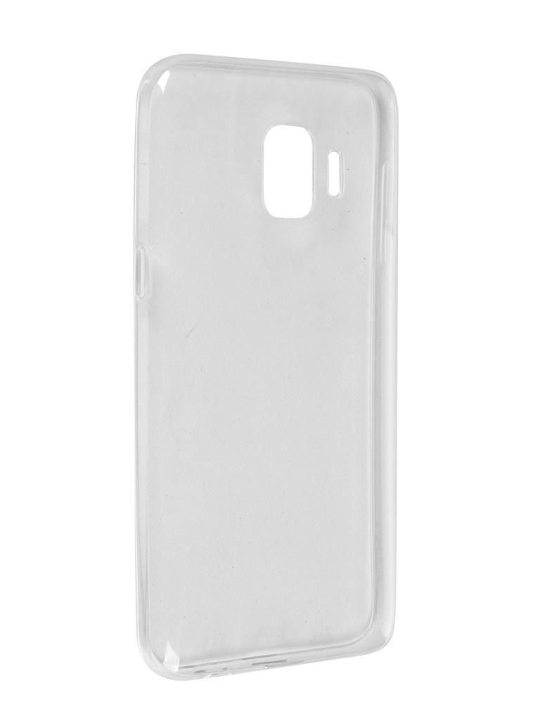 Чехол Pero для Samsung Galaxy J2 Core J260 Silicone Clip Case Transparent CC01-J2CTR