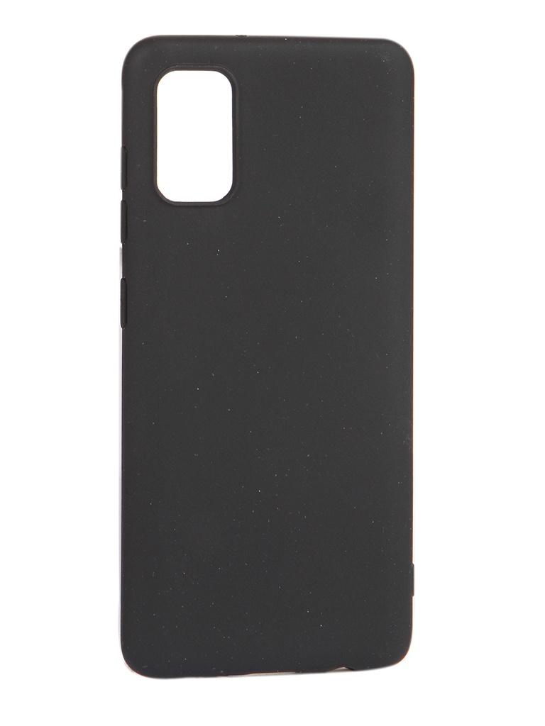 Чехол Pero для Samsung Galaxy A41 Soft Touch Black CC01-A41B