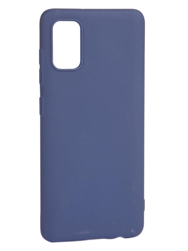 Чехол Pero для Samsung Galaxy A41 Soft Touch Blue CC01-A41BL