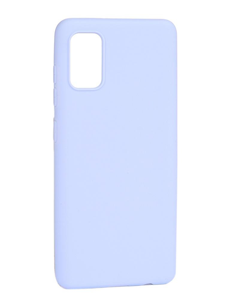 Чехол Pero для Samsung Galaxy A41 Soft Touch Light Blue CC01-A41OB