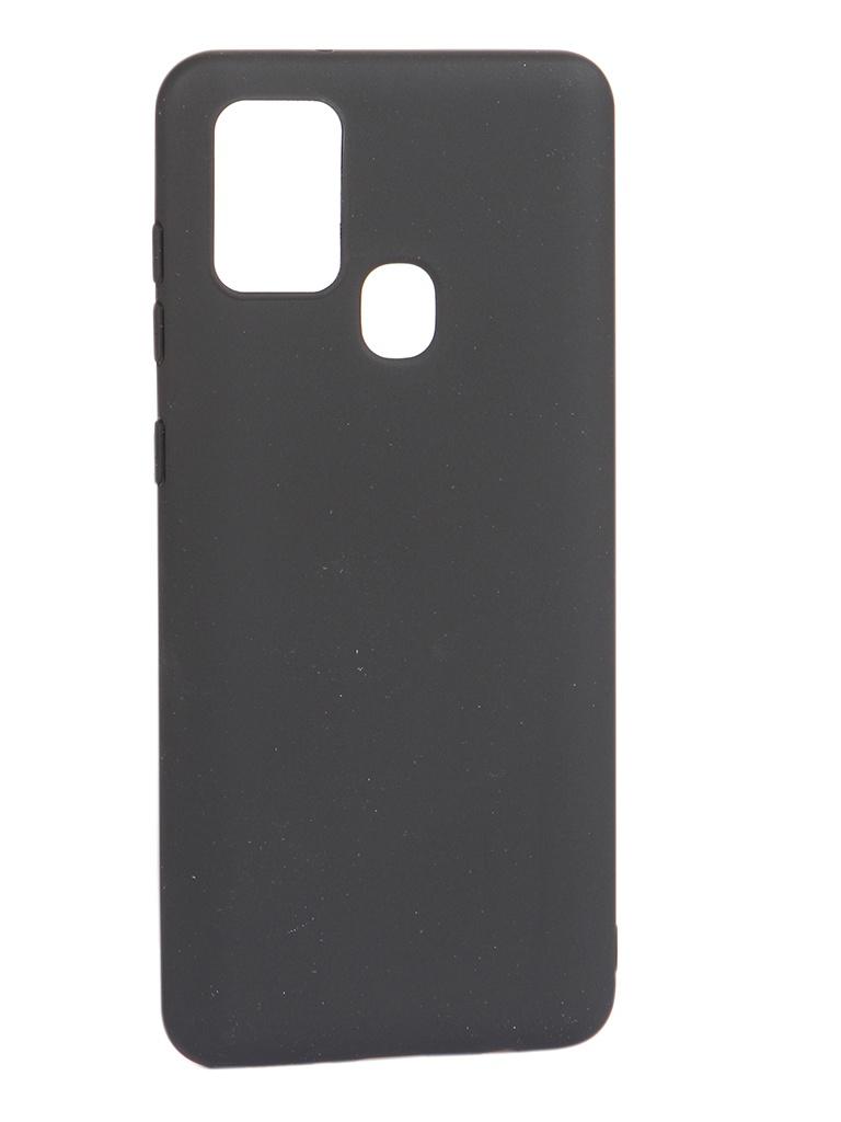 Чехол Pero для Samsung Galaxy A21S Soft Touch Black CC01-A21SB