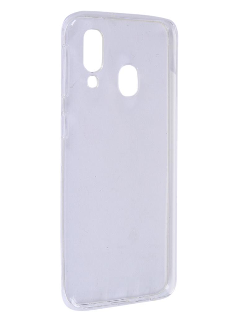 Чехол Pero для Samsung Galaxy A40 Silicone Clip Case Transparent CC01-A40TR