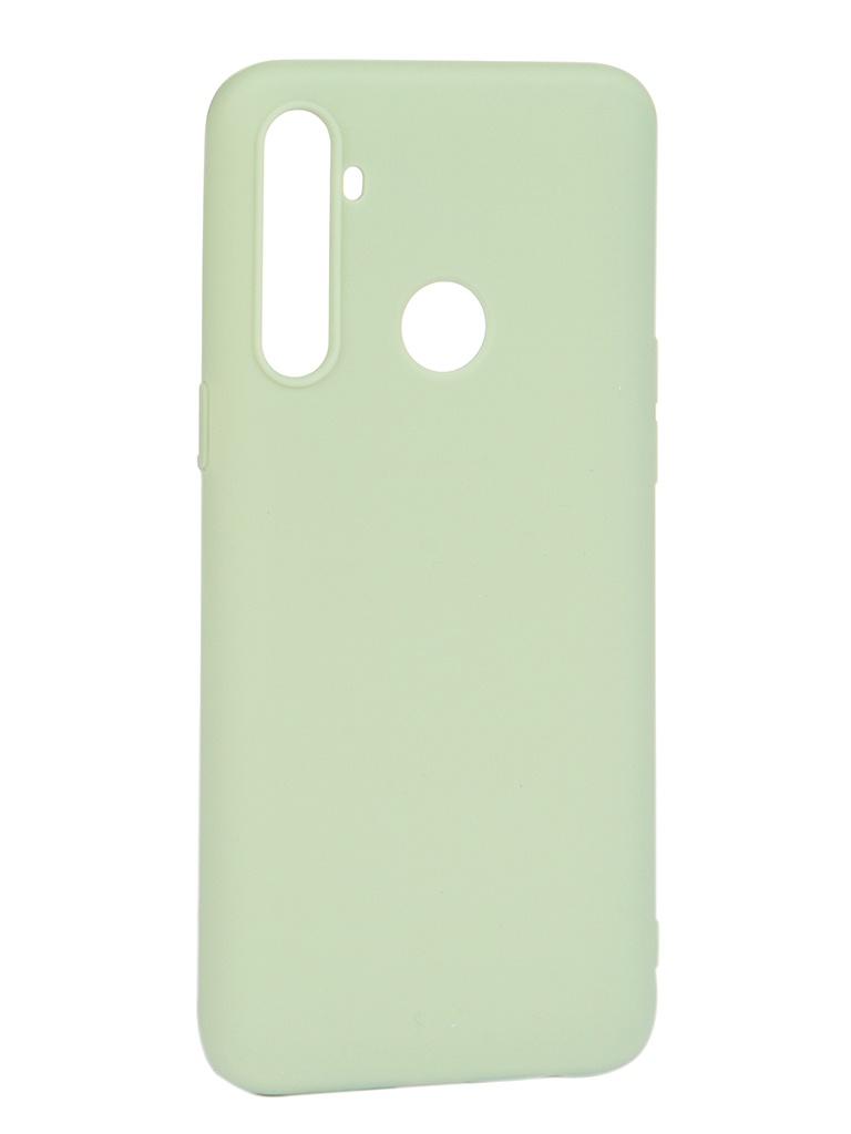 Чехол Pero для Realme C3 Soft Touch Mint CC01-RC3GRN