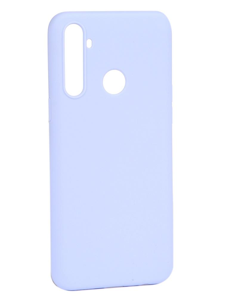 Чехол Pero для Realme C3 Soft Touch Light Blue CC01-RC3OB