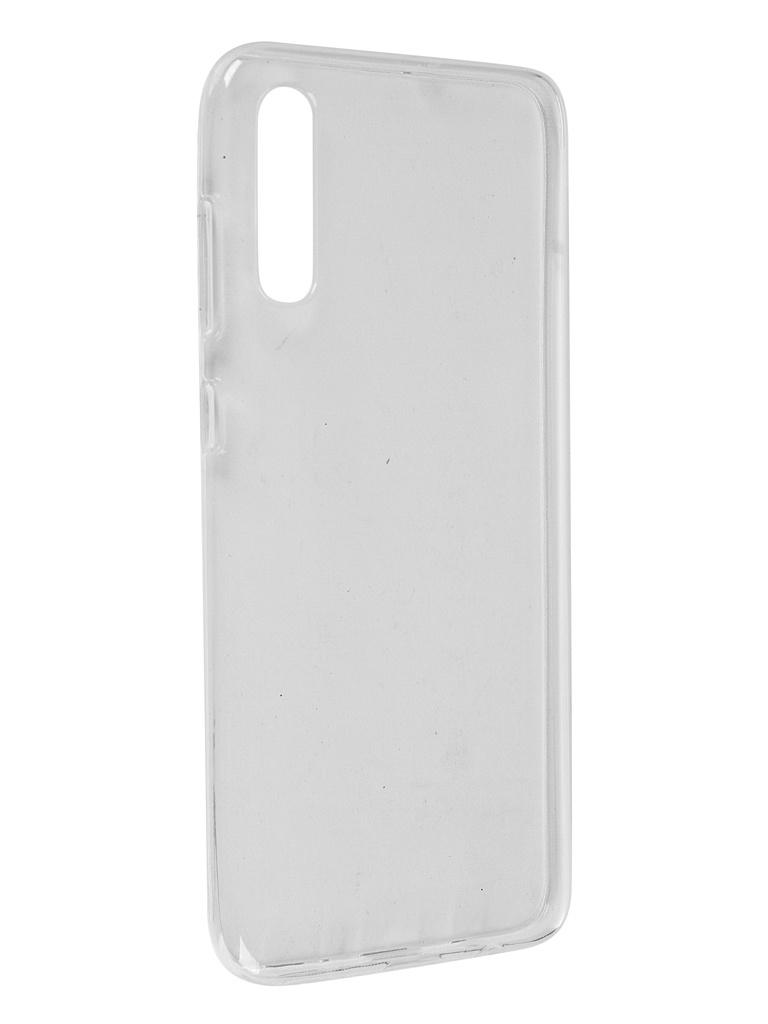 Чехол Pero для Samsung Galaxy A70 Silicone Clip Case Transparent CC01-A70TR