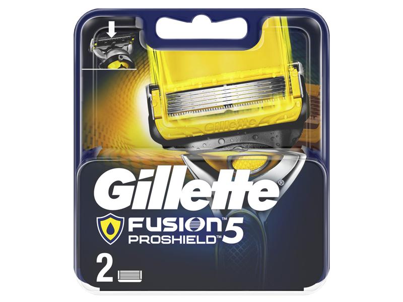 Сменные кассеты Gillette Fusion5 ProShield 2шт 7702018412303