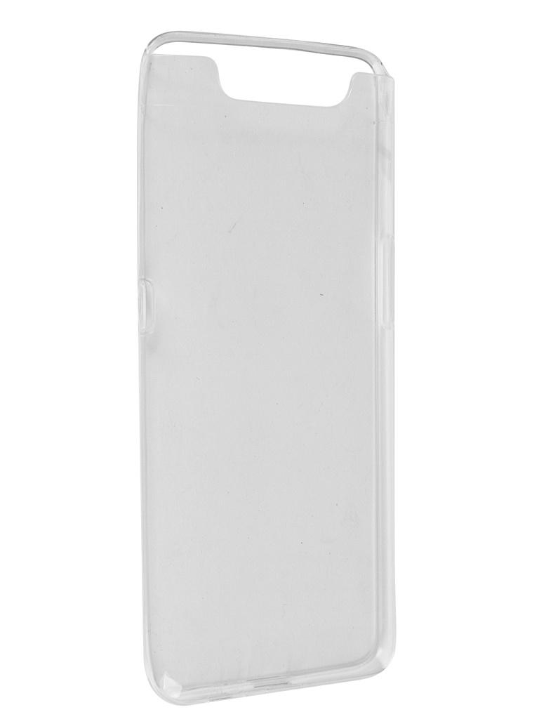 Чехол Pero для Samsung Galaxy A80 Silicone Clip Case Transparent CC01-A80TR