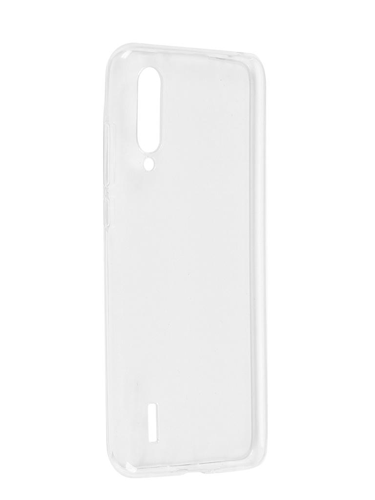 Чехол Pero для Xiaomi Mi A3 Lite Silicone Clip Case Transparent CC01-MIA3LTR
