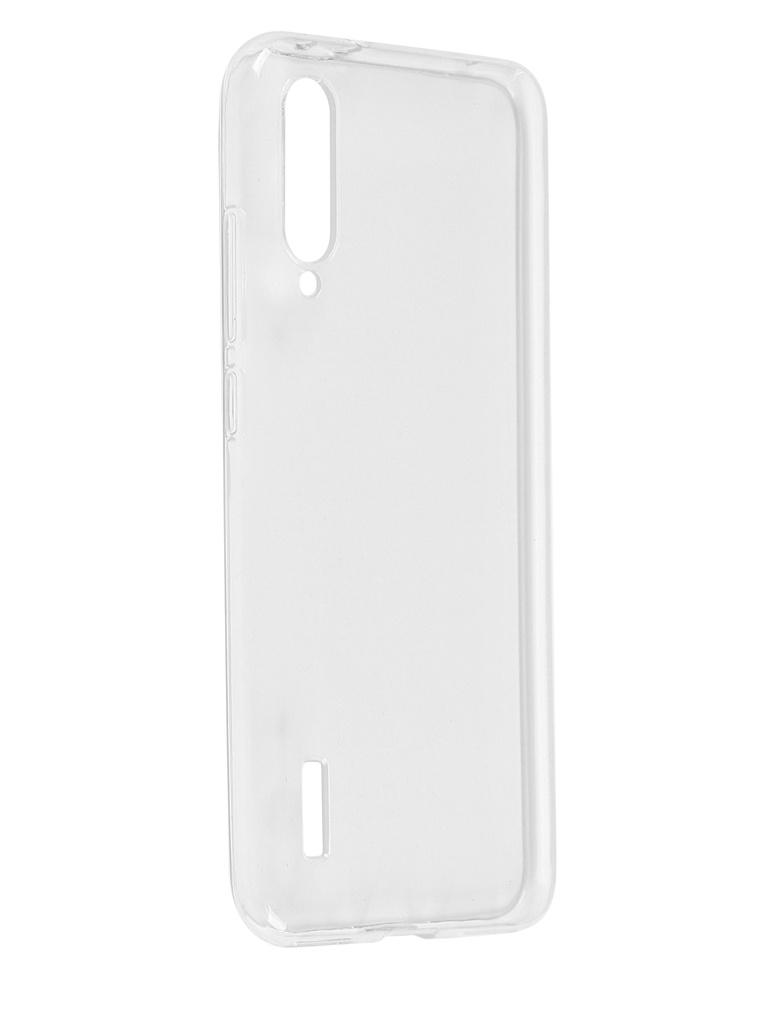 Чехол Pero для Xiaomi Mi A3 Silicone Clip Case Transparent CC01-MIA3TR