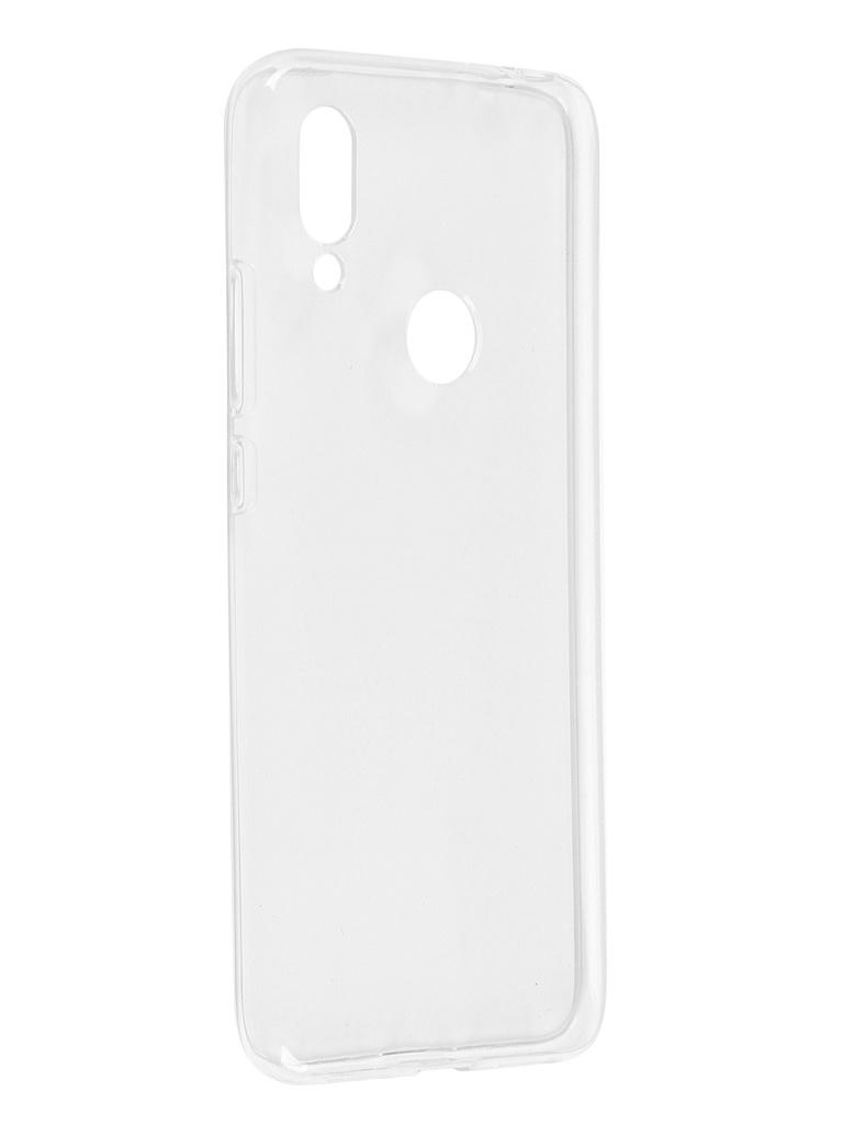 Чехол Pero для Xiaomi Redmi 7 Silicone Clip Case Transparent CC01-R7TR