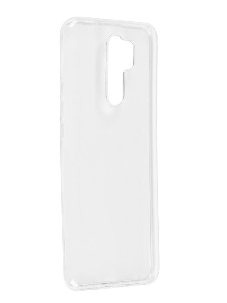 Чехол Pero для Xiaomi Redmi 9 Silicone Clip Case Transparent CC01-R9TR