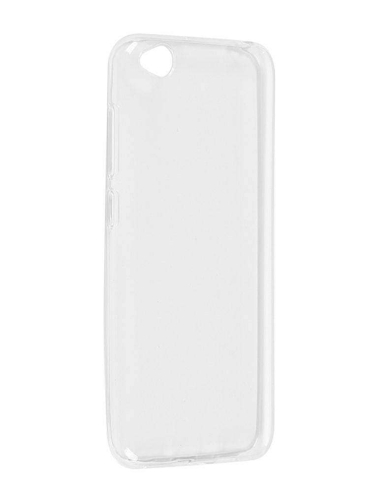 Чехол Pero для Xiaomi Redmi GO Silicone Clip Case Transparent CC01-RGOTR