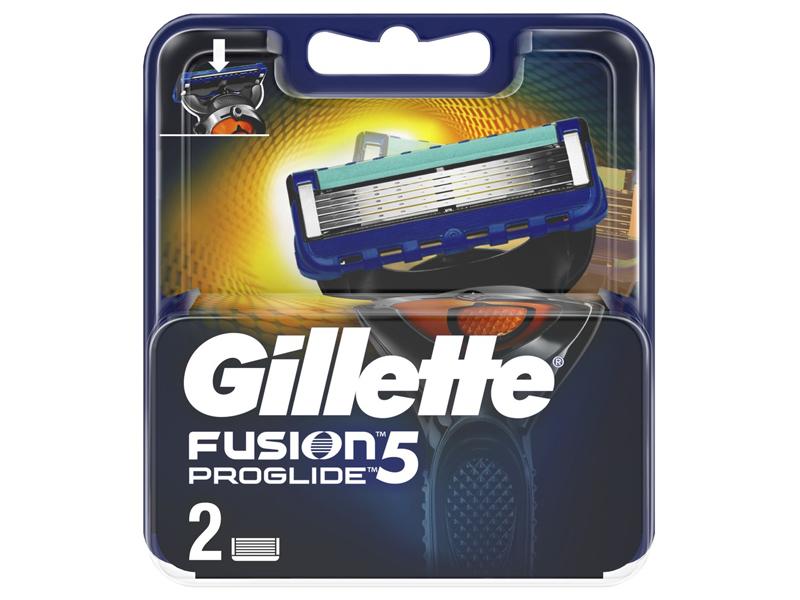 Сменные кассеты Gillette Fusion5 ProGlide 2шт 7702018085897
