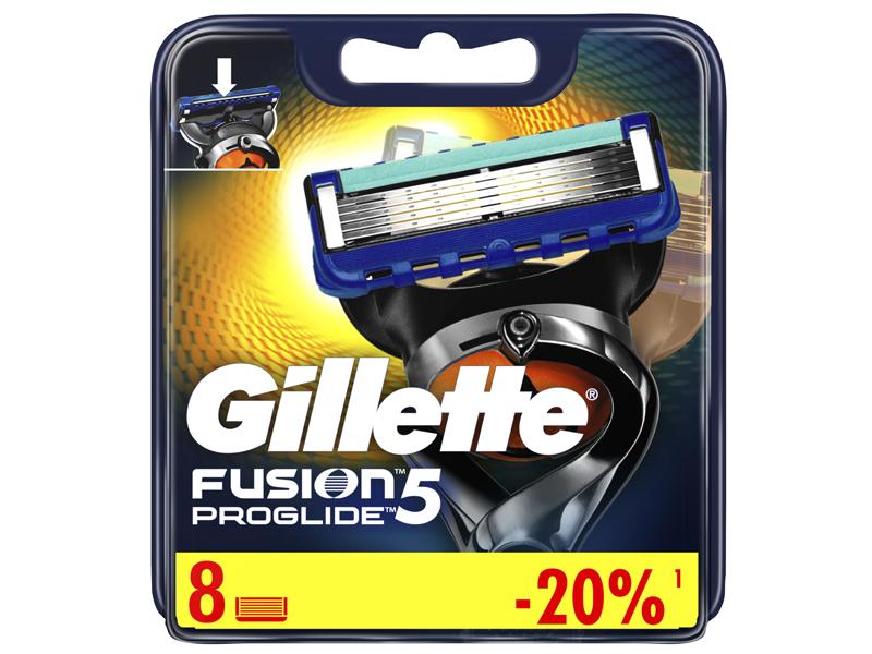 Сменные кассеты Gillette Fusion5 ProGlide 8шт 7702018085545