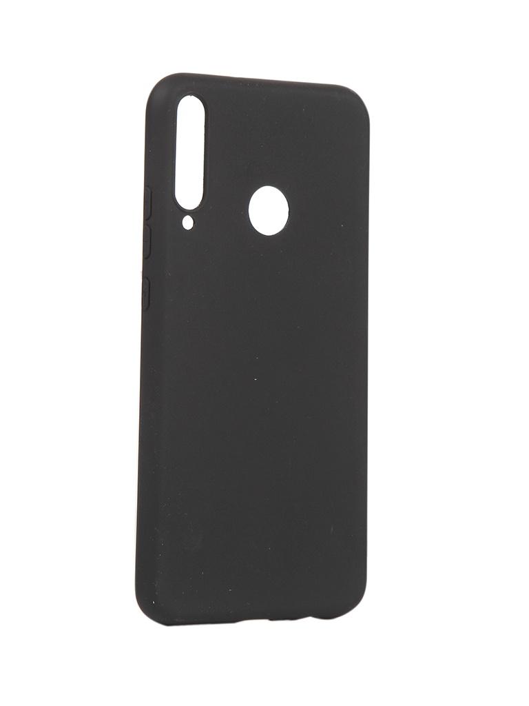 Чехол Pero для Honor 9C P40 Lite E Silicone Clip Case Soft Touch Black CC01-H9CB