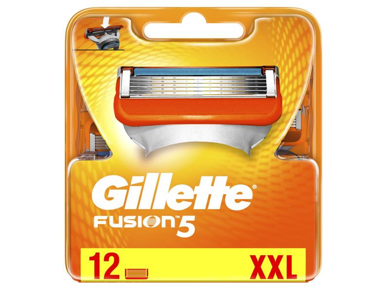 Сменные кассеты Gillette Fusion5 12шт 7702018542048
