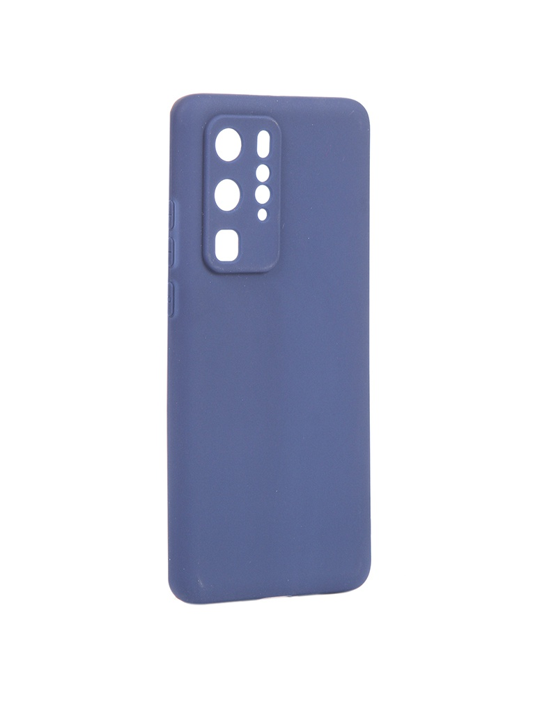 Чехол Pero для Huawei P40 Pro Silicone Clip Case Soft Touch Blue CC01-P40PBL