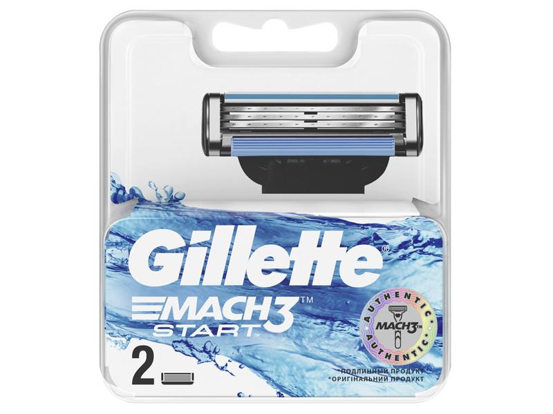 Сменные кассеты Gillette Mach3 Start 2шт 7702018461912