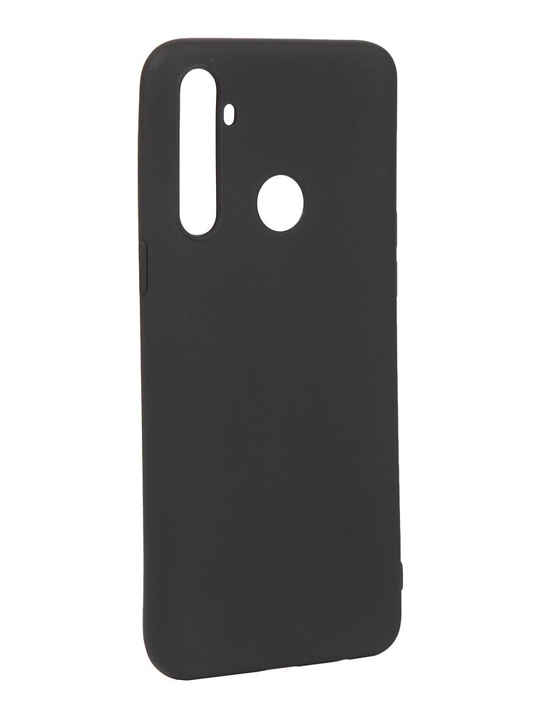 Чехол Pero для Realme 6i Silicone Clip Case Soft Touch Black CC01-R6iB
