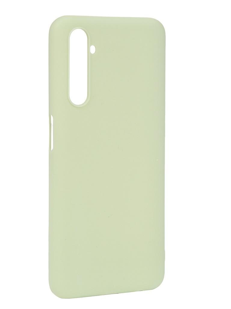 Чехол Pero для Realme 6 Silicone Clip Case Soft Touchi Mint CC01-R6iGRN