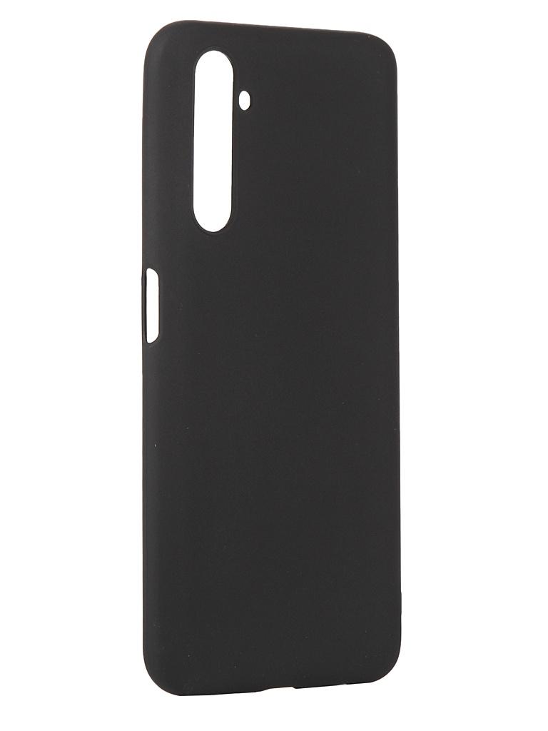 Чехол Pero для Realme 6 Pro Silicone Clip Case Soft Touch Black CC01-R6PB