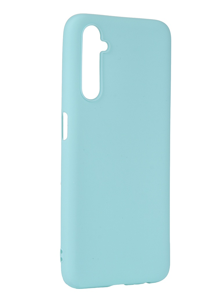 Чехол Pero для Realme 6 Silicone Clip Case Soft Touch Turquoise CC01-R6C