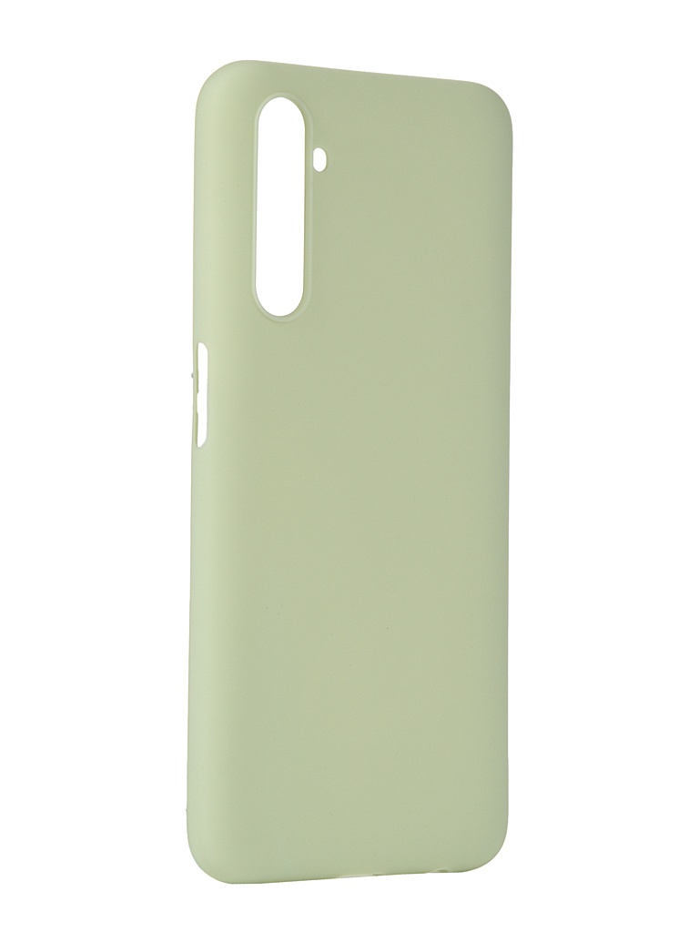 Чехол Pero для Realme 6 Silicone Clip Case Soft Touch Mint CC01-R6GRN