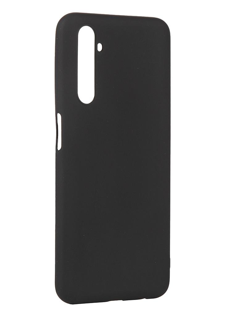 Чехол Pero для Realme 6 Silicone Clip Case Soft Touch Black CC01-R6B