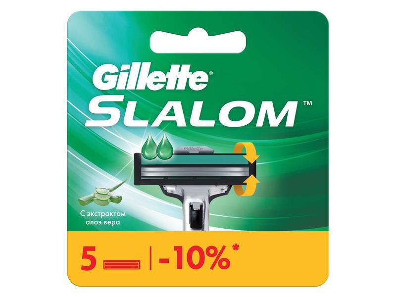 Сменные кассеты Gillette Slalom 5шт 7702018867912