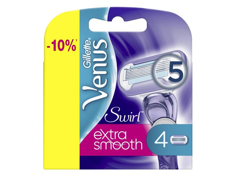 Сменные кассеты Gillette Venus Swirl 4шт 7702018401147