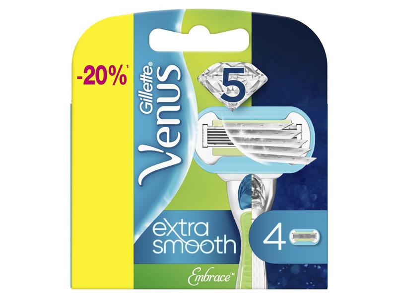 Сменные кассеты Gillette Venus Embrace 4шт 7702018955527