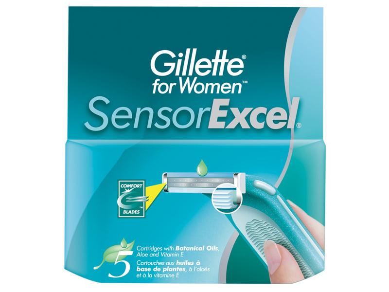 Сменные кассеты Gillette SensorExcel For Women 5шт 3014260244897