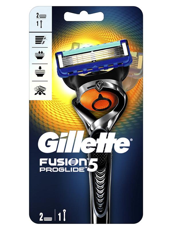 Бритва Gillette Fusion5 ProGlide Flexball + 2 кассеты