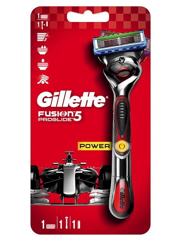 Бритва Gillette Fusion5 ProGlide Power Flexball + 1 кассета