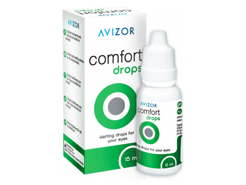 Капли Avizor Comfort Drops 15ml