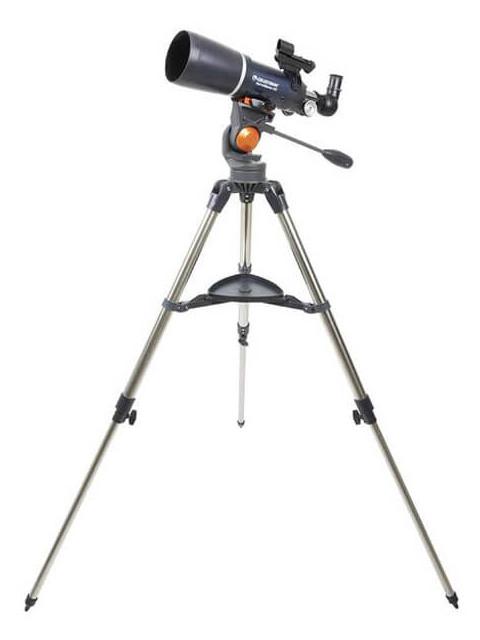 Телескоп Celestron AstroMaster 80 AZS 21082 телескоп celestron astromaster 90 az синий серебристый