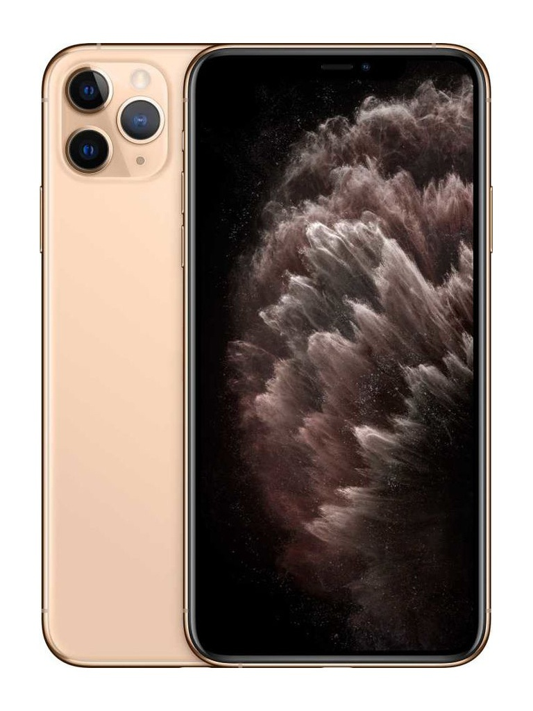 Сотовый телефон APPLE iPhone 11 Pro Max - 512Gb Gold MWHQ2RU/A Выгодный набор + серт. 200Р!!!