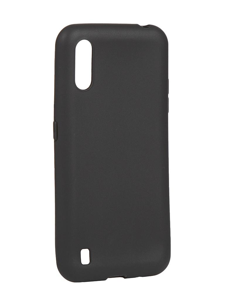 Чехол Liberty Project для Samsung Galaxy M01 TPU Silicone Black 0L-00049043