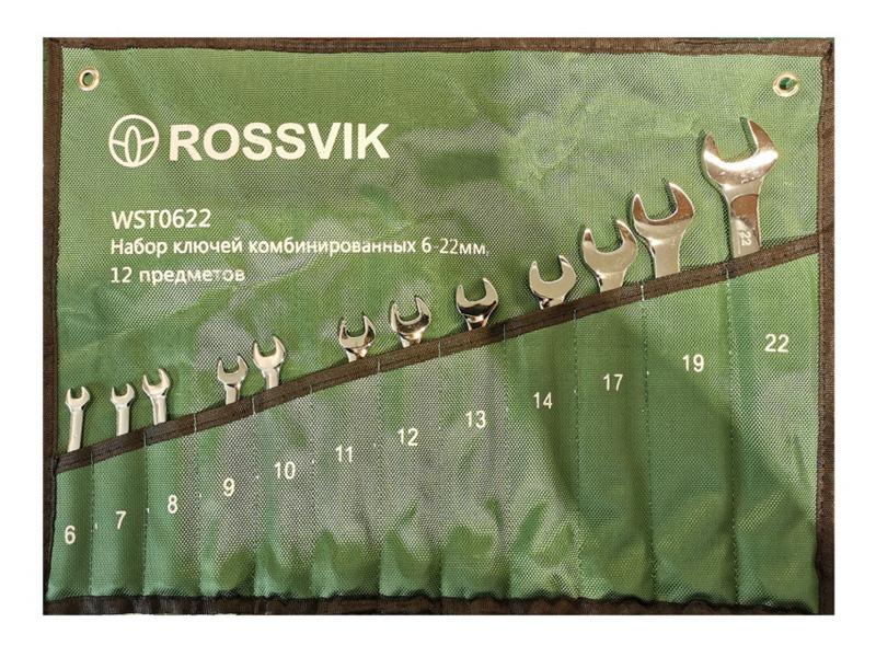 Набор ключей Rossvik WST0622
