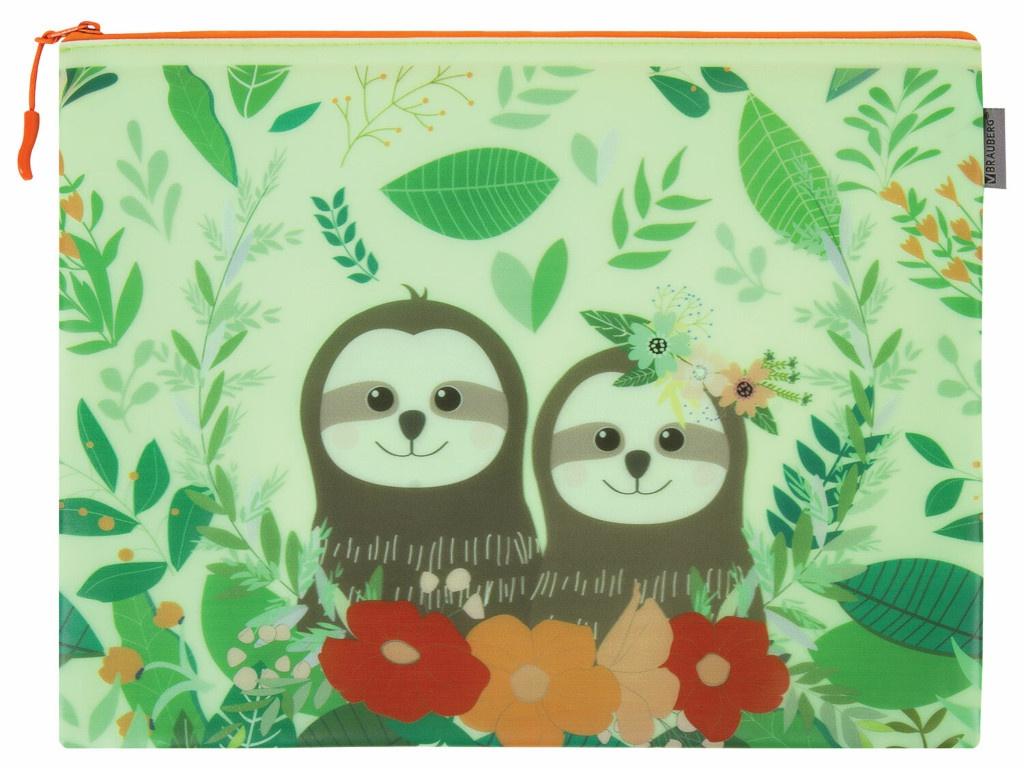Папка Brauberg Sloths A4 229263
