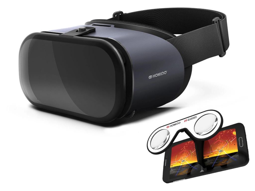 Фото - Очки виртуальной реальности Homido Prime Deluxe очки виртуальной реальности bobovr z6 black