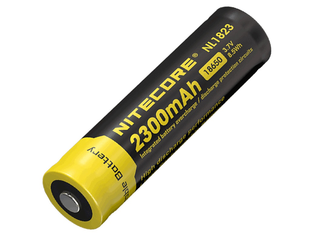 Аккумулятор Nitecore Rechargeable 18650 Li-Ion 2300 mAh NL1823