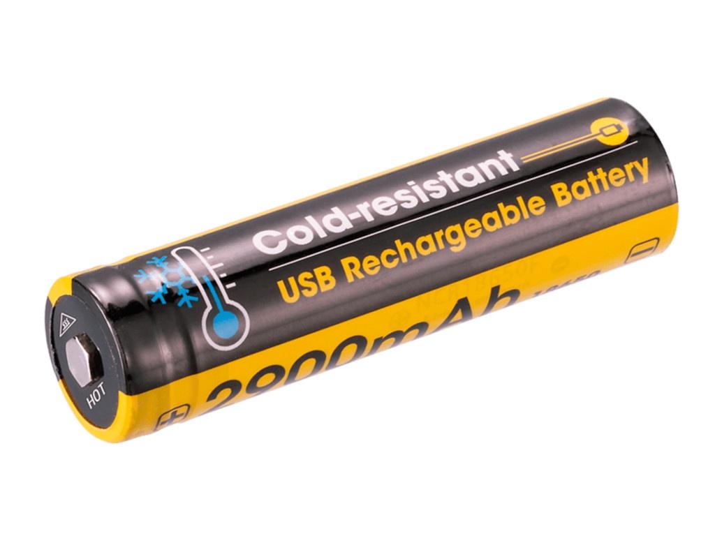 Аккумулятор Nitecore Rechargeable 18650 Li-Ion 2900 mAh NL1829RLTP