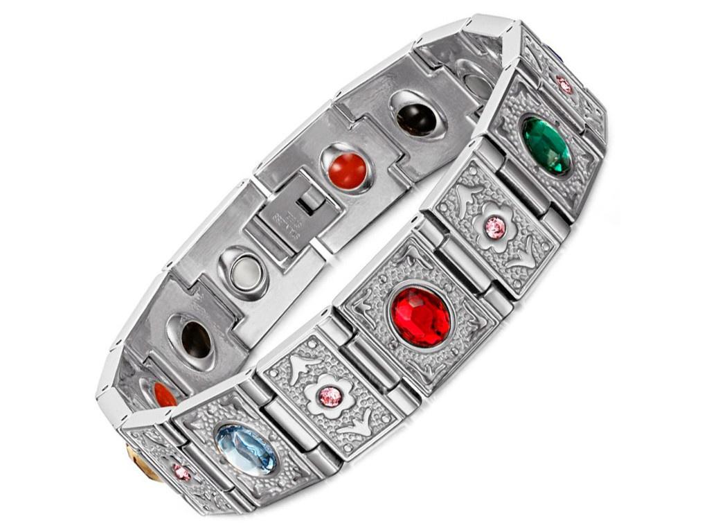 Магнитный браслет Luxor Кристал CR1