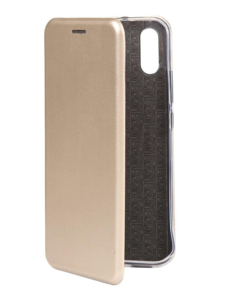 Чехол Zibelino для Xiaomi Redmi 9A Book Gold ZB-XIA-RDM-9A-GLD чехол zibelino для honor 9a book black zb huw 9a blk